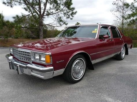 my 1983 caprice classic 1983 chevrolet caprice classic 4dr sedan 52k orig mi for sale from ta st pete clearwater