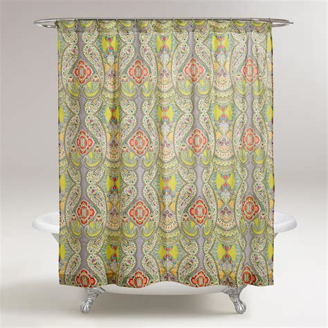 world market shower curtains venice shower curtain world market