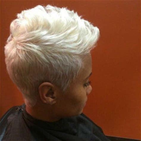 black platinum short haircuts honey blonde curly wig