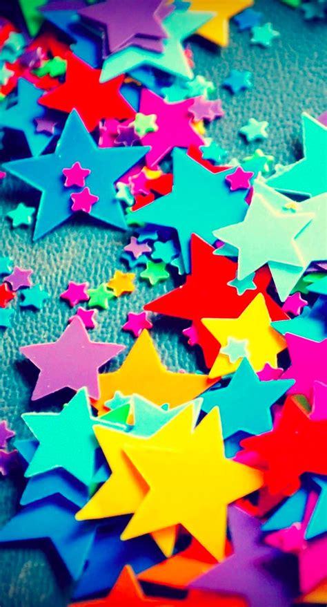wallpaper bintang warna warni bintang warna warni wallpaper sc iphone7plus