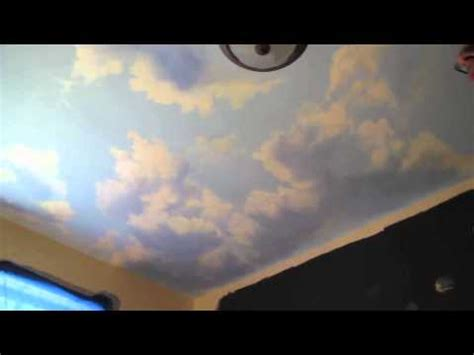 mural tutorial how to paint clouds on the ceiling doovi