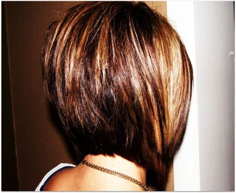 medium length stacked bob hairstyles stacked hair cut brunette medium length hairstyles 2012
