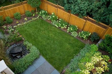how to turn small backyard landscaping into outstanding backyard