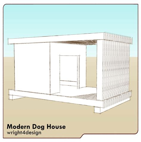 modern dog house plans 17 best images about dog house on pinterest wood working