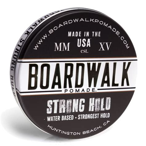 Urbab Waterbased Strong Hold Original pomade official boardwalk pomade