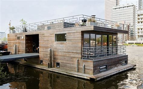 modern house boats interiors a houseboat like no other contemporary
