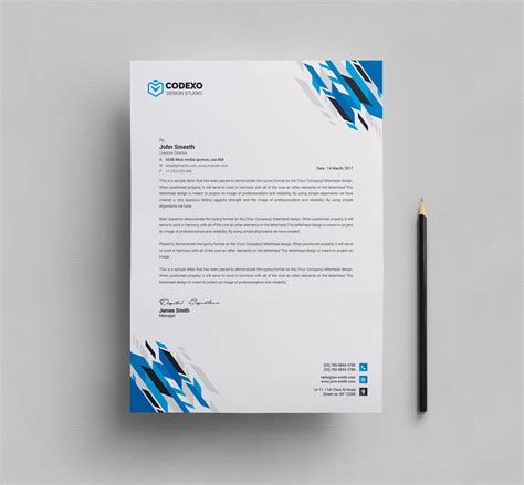letterhead stationery template 000578 template catalog