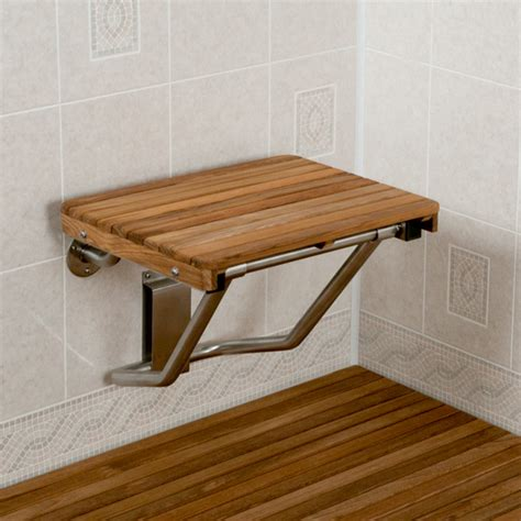 wooden shower bench seats teak bench for shower treenovation