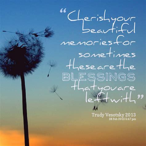 cherished memories quotes quotesgram