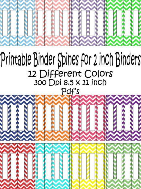 Binder Spine Labels Free