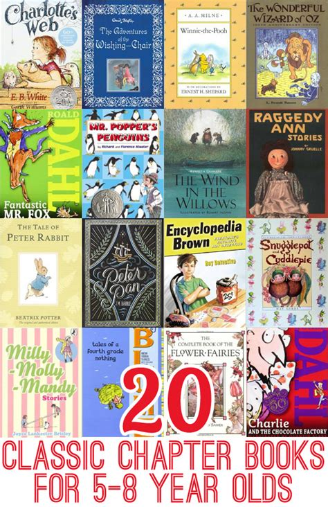 best picture books for 5 year olds 20 classic chapter books to read with 5 8 year olds