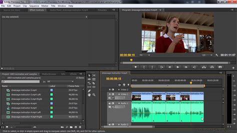 youtube tutorial adobe premiere pro cc adobe premiere pro cc tutorial normalizing audio and