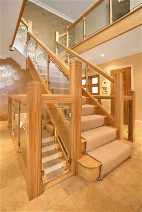 Small Contemporary Kitchens Design Ideas bespoke staircase hertfordshire handmade staircase north