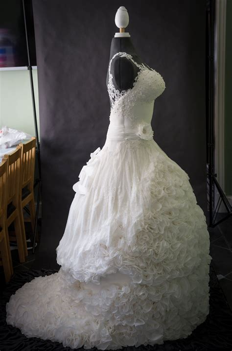 Wedding Dress Wedding Cake by Weddible Dress Wedding Cake Created By Sylvia Elba Yvette