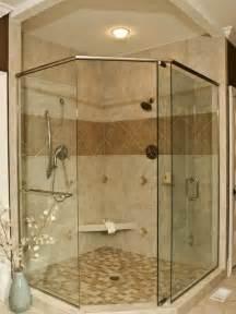 Handicap Accessible Bathroom Designs by Corner Shower Design Glass For The Home Pinterest