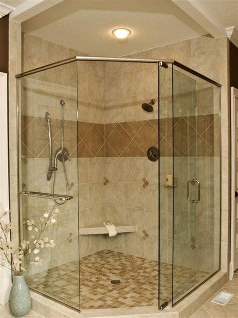 upstairs bathroom corner shower pinteres corner shower design glass dream home pinterest