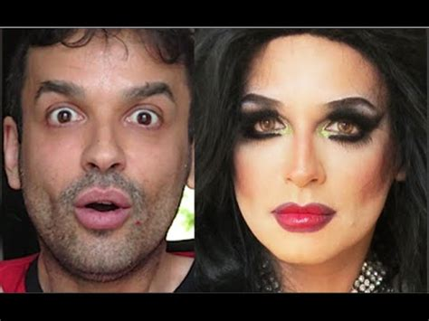 boy makeup like girl amazing makeup transformation from man to woman tutorial