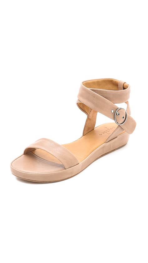 coclico sandals lyst coclico ramsey flat sandals in