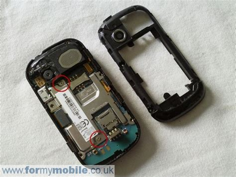 Batere Samsung B3410 samsung b3410 disassembly screen replacement and repair