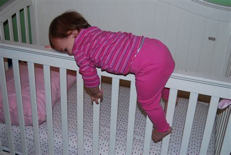 Babies Climbing Out Of Cribs Baby Climb Out Of Crib Baby Boy Climbing Out Of Crib 14 Month 19 Month Baby Climbs Out Of