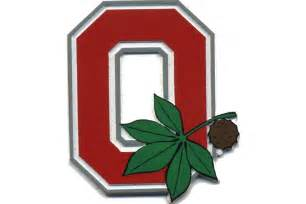 Ohio State Block O Outline by Ohio State Block O Refrigerator Magnet
