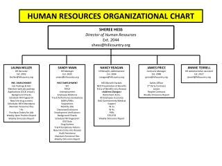 Mba In Industrial Organizational Psychology Salary by Ppt International Human Resources Org Chart And Poc