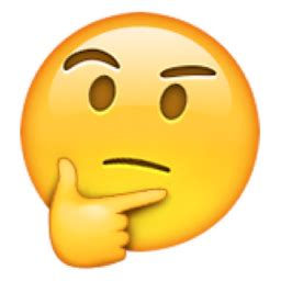 emoji question face excuses wearing self doubt for the world to see or hear