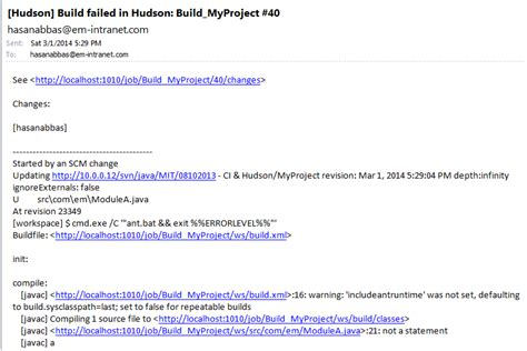 format jenkins email continuous integration ain t what it used to be with