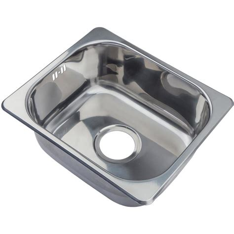 small kitchen sinks uk small kitchen sink inset top mount single bowl 420x363mm