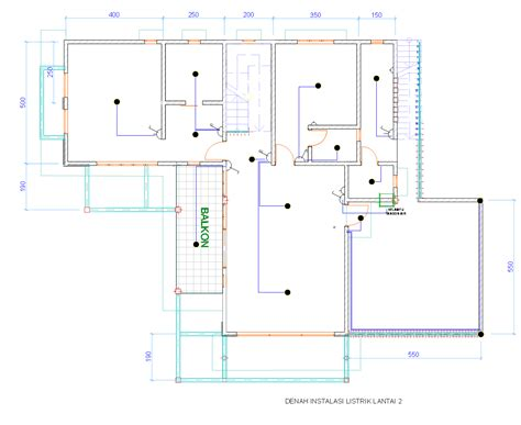 Jasa Instalasi Listrik Rumah denah new denah rumah dengan instalasi listrik