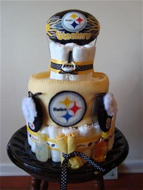 Baby Shower Pittsburgh by Pittsburgh Steelers Cake