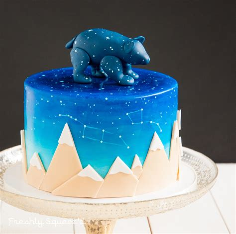 Unique Baby Shower Cakes For A by A Special And Unique Baby Shower Cake For Baby Ursa