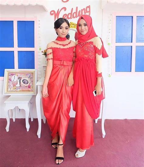 Mimpi Memakai Baju Kebaya Merah 12 model baju kebaya modern berjilbab edisi terbaru