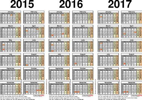 Galerry free printable academic year planner 2018 17