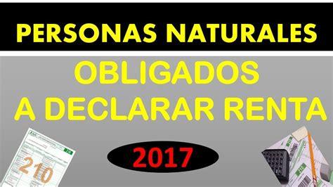 obligados a declarar en 2016 quienes deben declarar renta en el ao 2016 personas