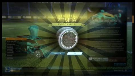 black zombas black zombas for 2 crates best rocket league trade ever