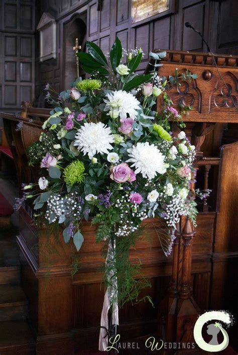 Flower Arrangements For Weddings by Church Pedestal Arrangement Wedding Ideas