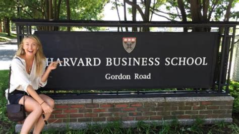 How Does Harvard Mba Take by Sharapova Enrolls In Harvard Business School During