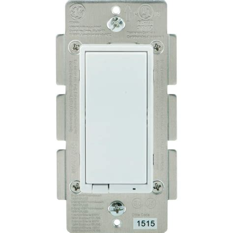 smartphone controlled light dimmer ge bluetooth in wall smart dimmer 13870 the home depot