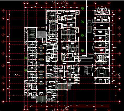 basic hospital  beds dwg block  autocad designs cad