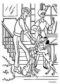 101 dalmatians coloring pages roger perdita and pongo coloring pages hellokids