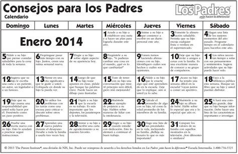 calendario de enero de 2013 actividades en familia calendario www onlinefreespanish com