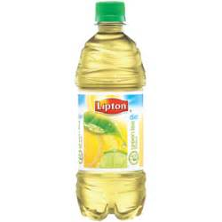 Diet Lipton Green Ice Tea w/Citrus 16.9OZ Bottles 12CT