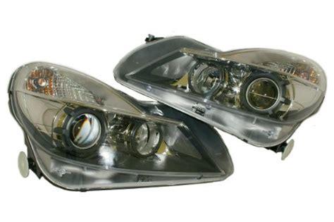 mercedes sl   black series headlights pair xenon sl sl sl aftermarket garage