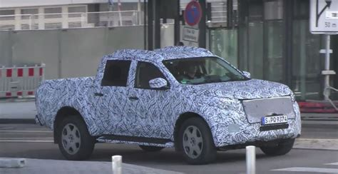 2018 mercedes up truck 2018 mercedes glt gets closer to production to