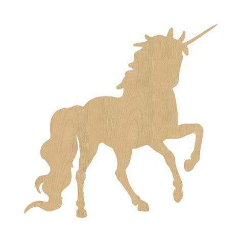 unicorn wood pattern unicorn style 1 shape laser cut unfinished wood shapes