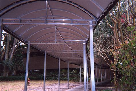 Sun Air Awnings Jacksonville Covered Pedestrian Walkways By Boree Canvas