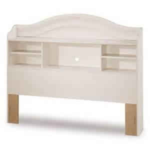 white bookcase headboard south shore furniture summer bookcase
