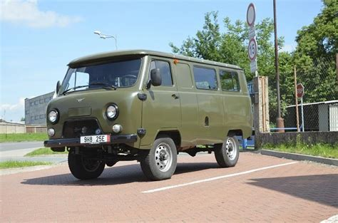 Uaz 452 Passenger Made In Russia