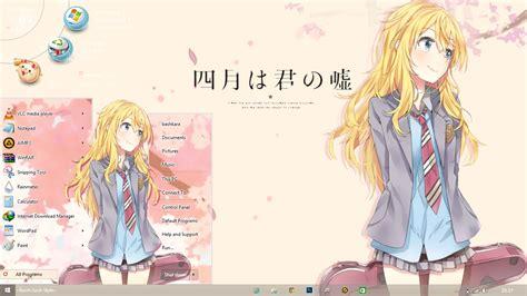 themes for windows 8 1 anime theme 8 shigatsu wa kimi no uso